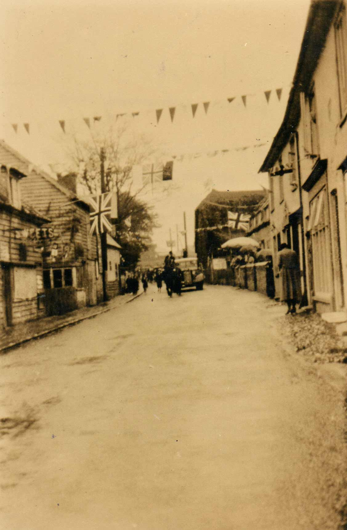 Silver Street Decorated For Carnival Wethersfield History